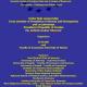 """Preliminary program II. Interational Conference """"Economic System of European Union and Accession of the Bosnia and Herzegovina – Challanges and Policies Ahead"""", Mostar, October 29-30, 2018, Bosnia and Herzegovina"""